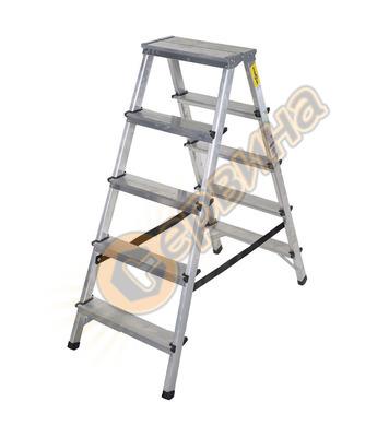 Двустранна алуминиева стълба Drabest 03082500  - 2Х5бр