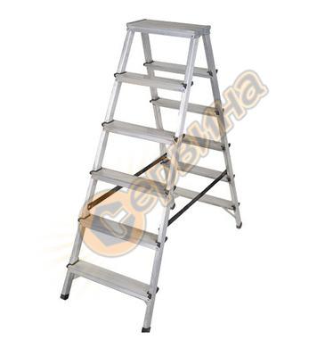 Двустранна алуминиева стълба Drabest 03082600 - 2Х6бр