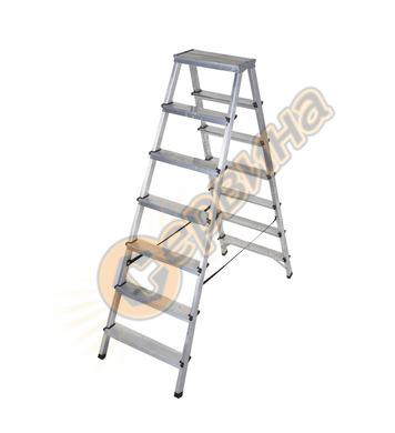 Двустранна алуминиева стълба Drabest 03082700 - 2Х7бр