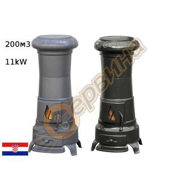 Камина-печка-пещ на твърдо гориво без водна риза Plamen JULI