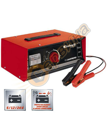 Зарядно устройство Einhell CC-BC 15 1075031 6/12-24V - 10-30