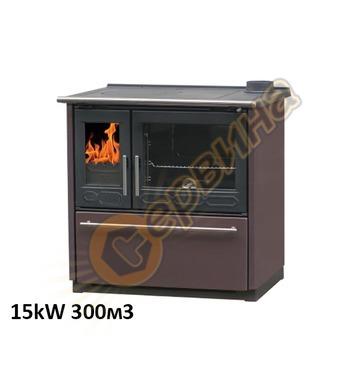 Готварска печка-пещ на твърдо гориво без водна риза Plamen 8