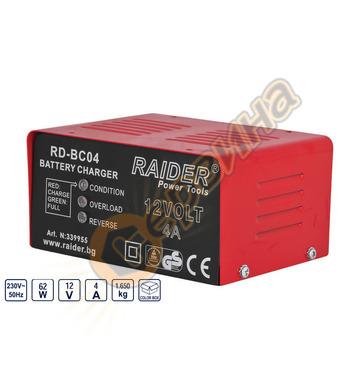 Зарядно устройство Raider RD-BC04 339955 12V - 20-60Ah