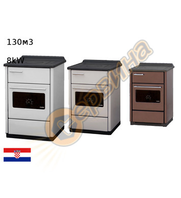 Готварска печка-пещ на твърдо гориво без водна риза Plamen C