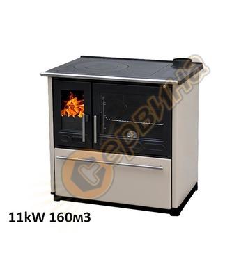 Готварска печка-пещ на твърдо гориво с водна риза Plamen 850