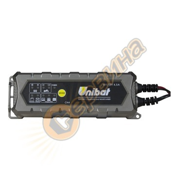 Автоматично акумулаторно зарядно устройство Unibat CH4 6/12V