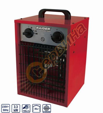 Електрически калорифер Raider RD-EFH3.3 123303 - 3.3kW