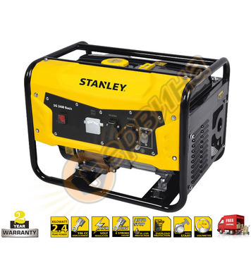 Бензинов генератор Stanley SG2400 Basic 604.800.010 - 2.1KW