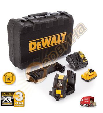 Лазерен нивелир DeWalt DCE088D1G - 10.8V/2.0Ah