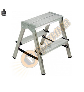 Двустранна алуминиева домакинска стълба Alpos 33-03 39443 -