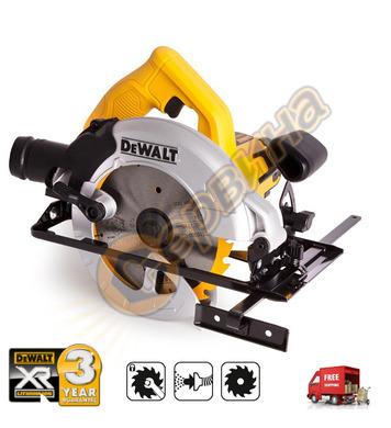 Ръчен циркуляр DeWalt DWE550 - 1200W