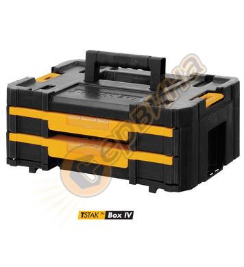 Куфар за инструменти с 2 чекмеджета DeWalt Tstak IV DWST1-70