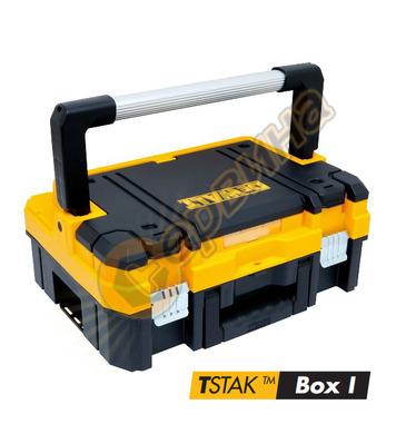 Куфар за инструменти с дунапренена подложка DeWalt Tstak I D