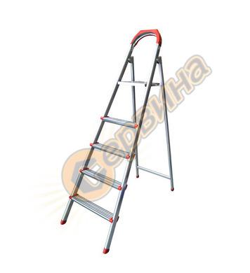Метална домакинска стълба Herly 37032 - 5+1бр