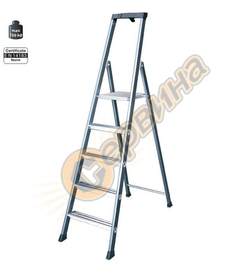 Алуминиева домакинска стълба Krause SePro S New 124197 - 4+1