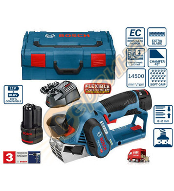 Акумулаторно ренде Bosch GHO 12V-20 06015A7001 - 12V/3.0Ah L