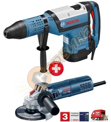 Комбиниран перфоратор Bosch GBH 12-52 DV 0615990J9X + Ъглошл