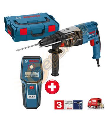 Комбиниран перфоратор Bosch GBH 2-28 F 061126760A + Детектор