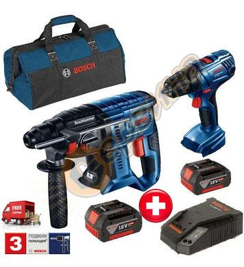 Акумулаторен перфоратор Bosch GBH 180-LI 06019F8102 + Акумул
