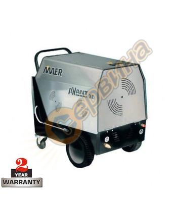 Професионална трифазна пароструйка с гореща вода Maer Avant
