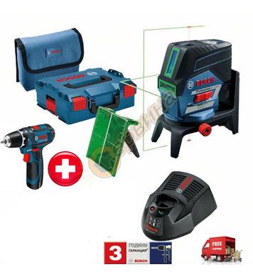 Линеен лазерен нивелир Bosch GCL 2-50 CG 06159940L6 + Акумул