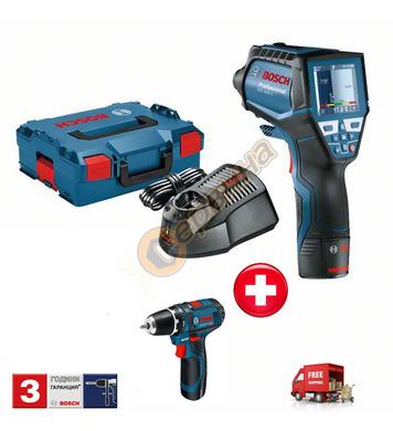 Термодетектор Bosch Gis 1000C 06159940L5 + Акумулаторен проб