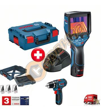 Акумулаторна термокамера Bosch Gtc 400 C 06159940L2 + Акумул