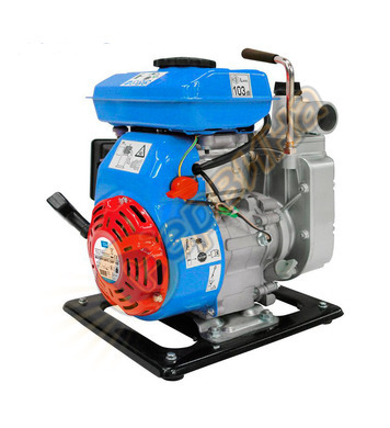 Водна помпа бензинова Gude - комплект GMPS 100  4m 1.1kW  9