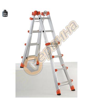Алуминиева телескопична стълба Gierre Peppina Al040 24010102