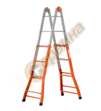 Стоманена телескопична стълба Gierre Peppina A0040 24010202