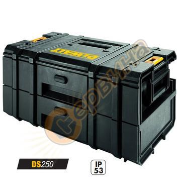 Куфар за инструменти с 2 чекмеджета DeWalt Toughsystem DS250