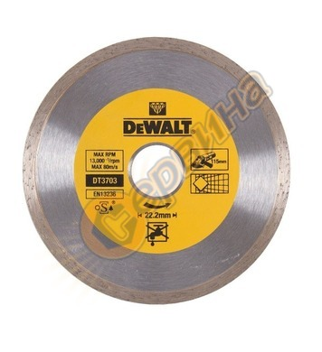 Диамантен диск DeWalt 115x22,2мм DT3703