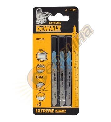 Нож за метал за прободен трион-зеге DeWalt DT2150 - 1.0x61мм