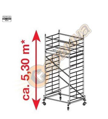 Подвижно алуминиево скеле Krause ProTec XXL 911131 - 5.30 м