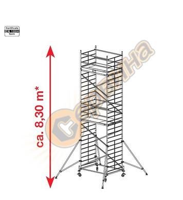 Подвижно алуминиево скеле Krause ProTec XXL 911162 - 8.30 м