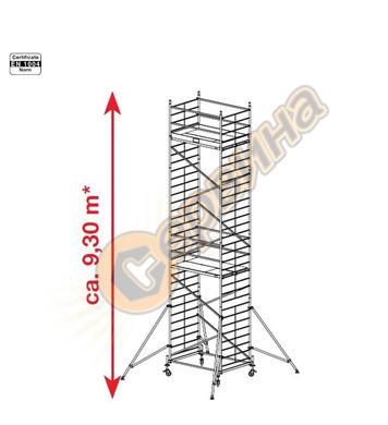 Подвижно алуминиево скеле Krause ProTec XXL 911179 - 9.30 м