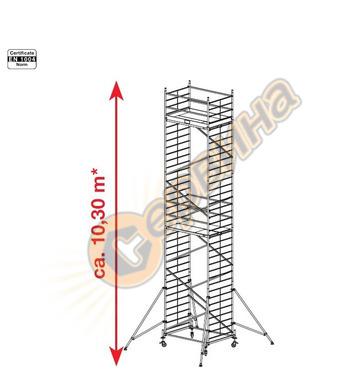 Подвижно алуминиево скеле Krause ProTec XXL 911186 - 10.30 м