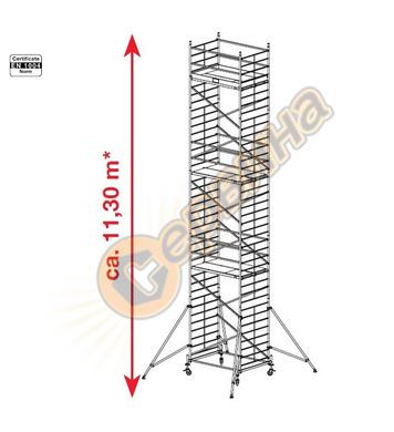 Подвижно алуминиево скеле Krause ProTec XXL 911193 - 11.30 м