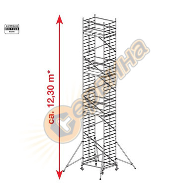 Подвижно алуминиево скеле Krause ProTec XXL 911209 - 12.30 м