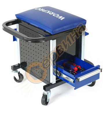Сервизен стол - количка с инструменти Workpro 136 части  W00