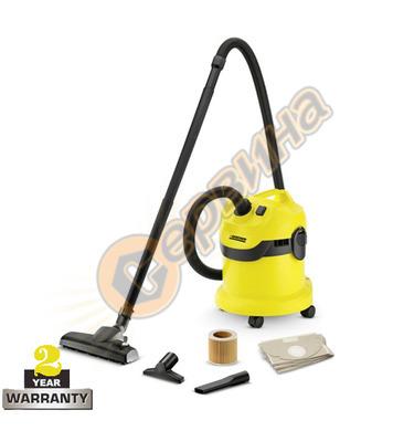 Прахосмукачка за сухо и мокро почистване Karcher WD 2 Home 1