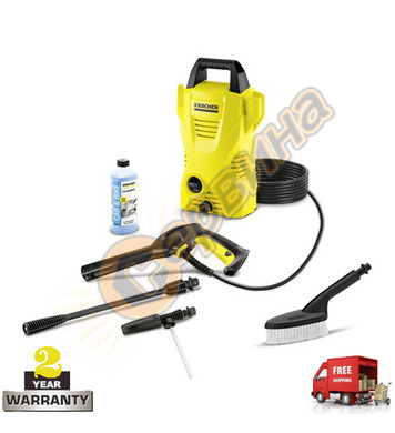 Водоструйка Karcher K2 Basic Car 1.673-156.0 - 1400 W
