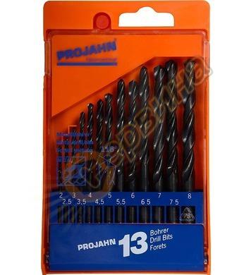 Комплект свредла за метал HSS-R Projahn 67005 - 13 части