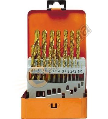 Комплект свредла за метал HSS-TiN Projahn 60390 - 19 части