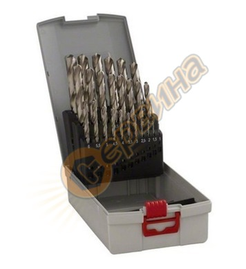 Комплект свредла за метал HSS R Bosch PointTeQ 2608577352  -