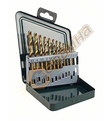 Комплект свредла за метал HSS-TiN Bosch 2607019436 - 13броя