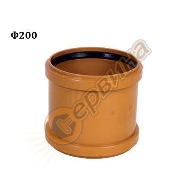 ПВЦ муфа Pestan 10402723 - ф200