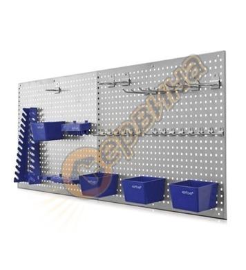 Метална перфорирана стена за инструменти Erba 06601 - 558х45