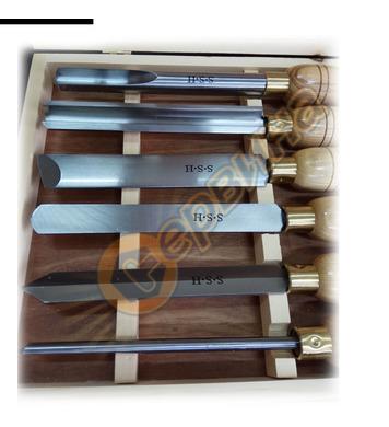 Комплект стругарски длета за дърво Scheppach 6бр.  88002717