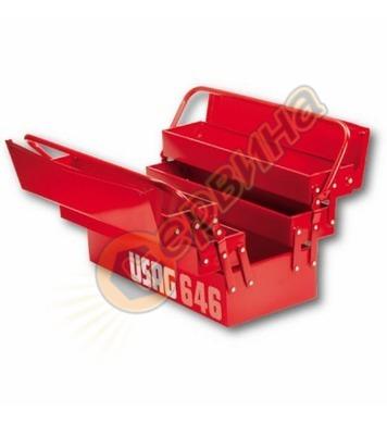 Метален куфар за инструменти Usag 646 U06460201 - 495 мм